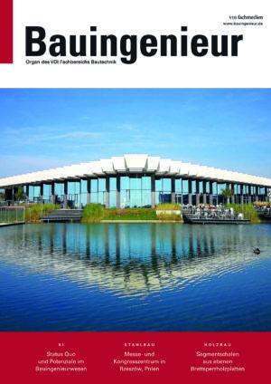 Titelblatt von Bauingenieur