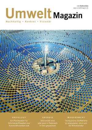 Titelblatt von UmweltMagazin